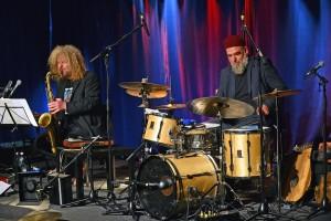 enjoyjazz Festival 2015. Konzert am 25.10. im haus, Ludwigshafen, das Ditzner-Loemsch Duo © Rinderspacher